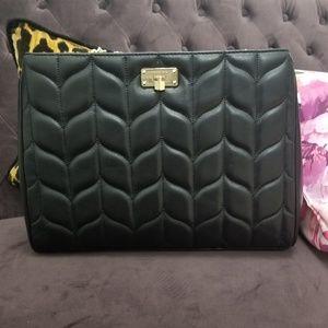 Michael Kors Black Peyton Leather Large Tote NWT